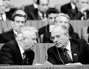 В первые годы правления Горбачева Егор Лигачев был его правой рукой в делах партии