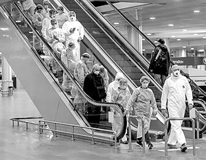 Российские аэропорты заполнены, в отличие от многих зарубежных