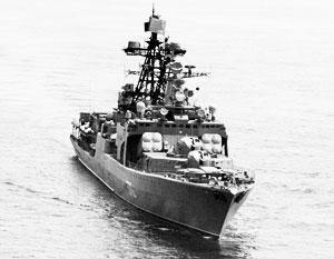 «Адмирал Виноградов» на страже тихоокеанских границ России