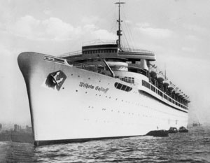 «Вильгельм Густлов» на момент гибели официально считался кораблем ВМС нацистской Германии