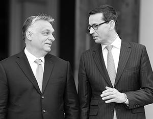Лидеры Польши и Венгрии нашли общий язык против остальных стран ЕС