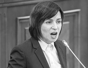 Майя Санду освоилась в роли нового президента и уже позволяет себе резкий тон в адрес России
