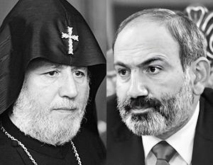 Католикос Гарегин II просит Пашиняна уйти во избежание трагических потрясений