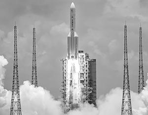Лунный модуль был отправлен на орбиту с помощью ракеты «Чанчжэн-5»