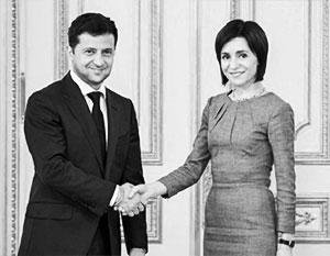 Молдавия и Украина договорились о стратегическом партнерстве