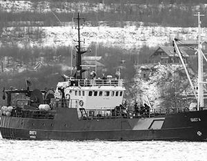 Судно «Онега» с экипажем из 19 человек затонуло в Баренцевом море