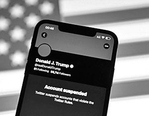Дональд Трамп потерял трибуну в социальных сетях