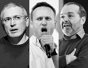 Ходорковский и Навальный назвали блокировку Трампа актом цензуры, а Шендерович – проявлением демократии