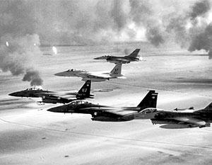 «Бурей в пустыне» правильно называть только воздушную часть операции, наземную именовали иначе – «Сабля пустыни»