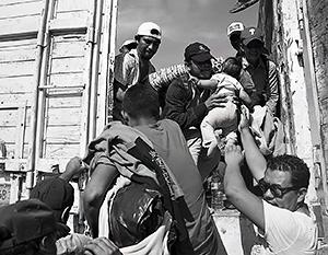 Тысячи мигрантов потребовали теплый прием от новой администрации США