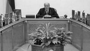 Премьер-министр Михаил Фрадков на заседании Правительства РФ