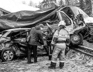 Высокая смертность на российских дорогах сохраняется из-за слабой подготовки водителей