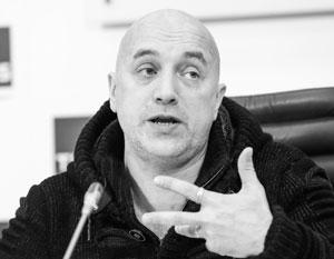 Захар Прилепин говорит, что готов работать в Госдуме, но мечтает вернуться воевать в Донбасс