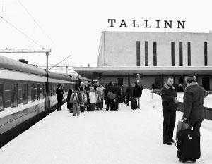 Пассажирские и грузовые перевозки эстонских железных дорог постоянно падают