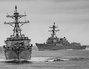 Американские эсминцы безнаказанно чувствуют себя в Черном море