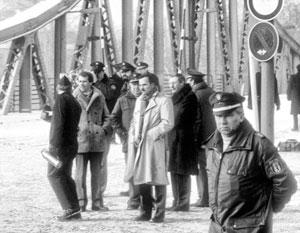 11 февраля 1986 года, Берлин, идет процедура обмена