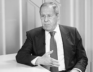 «Хочешь мира – готовься к войне», – заявил Лавров