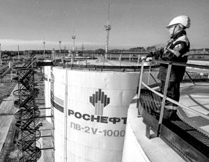 Роснефть смогла сохранить прибыль, несмотря на обвал нефтяных цен