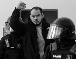 Пабло Хасель арестован за свои высказывания