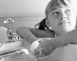 В США скоро престанут пользоваться антибактериальным мылом