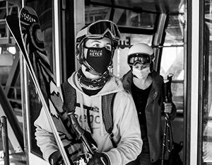 Теоретически наши лыжники через год смогут опять кататься в Альпах – если заранее привьются