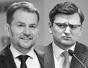 Украина потребовала извинений от Словакии за шутку об обмене Закарпатья на российскую вакцину