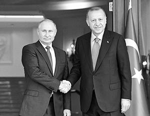 Турция взаимодействует с Россией по принципу шведского стола