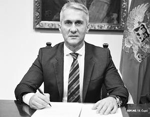 Деян Вукшич устроил перестройку в АНБ Черногории