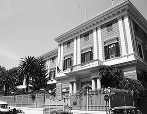 Здание российского посольства в Италии