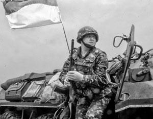 Украинские силовики ведут обстрелы территории Донбасса