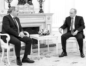 Сохранение контактов с Путиным может стать спасительным якорем для Пашиняна