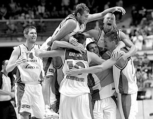 Это большая победа в истории российского баскетбола