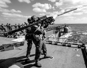 Американская морская пехота учится воевать против России