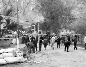 Противостояние на киргизско-таджикской границе удалось погасить за один день