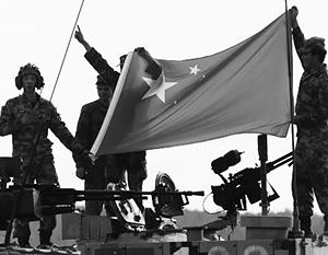 Китайский флаг пока можно увидеть не на всей планете