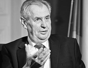 Как подчеркнул Земан, какие-либо доказательства и свидетельства в пользу «российского следа» во взрывах в Врбетице отсутствуют