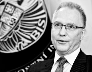 Глава чешской разведслужбы Михал Куделка – ярый противник президента страны Милоша Земана