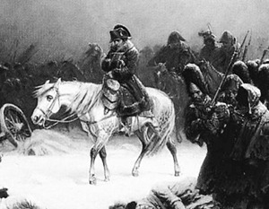 Фото: Нортен Адольф. Отступление Наполеона из Москвы