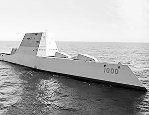 Носителями американского гиперзвукового оружия должны стать эсминцы типа «Зумвалт»