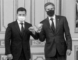 Зеленский получил от Блинкена заверения в солидарности, но не более того