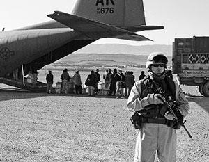 Узбекский аэродром Карши-Ханабад ранее уже использовался как военно-воздушная база США