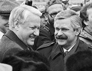 Руцкой рассказал, что после своей отставки Ельцин прислал ему письмо, в котором признал его правоту