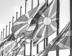 За маленькой антироссийской акцией македонцев кроется история большого национального предательства