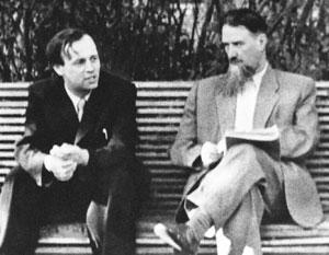 Андрей Сахаров и Игорь Курчатов