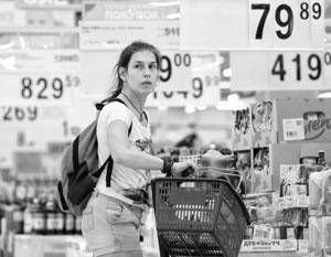 Цены в продуктовых магазинах беспокоят всех
