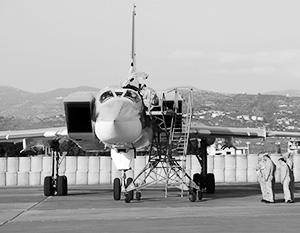 25 мая 2021 года. Ту-22М3 прибыли на авиабазу Хмеймим