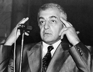 Звиад Гамсахурдиа в расцвете своей политической карьеры