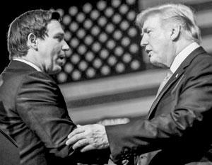 Десантис – верный солдат Трампа, но американцы полюбили его не за это