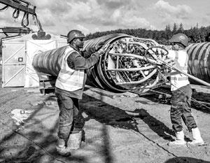 Прокладка Baltic Pipe остановлена на неопределенный срок