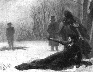 Гибель Пушкина – одна из  наиболее трагических страниц русской истории